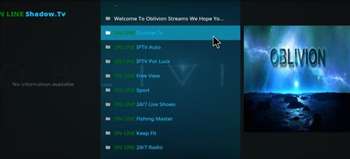 How to Install Oblivion Streams Kodi Add-on with Screenshots pic 2