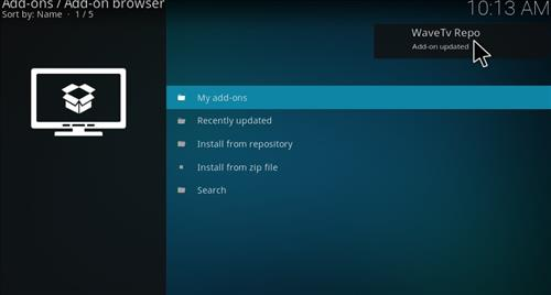 How to Install Wave TV Kodi Add-on with Screenshots step 13