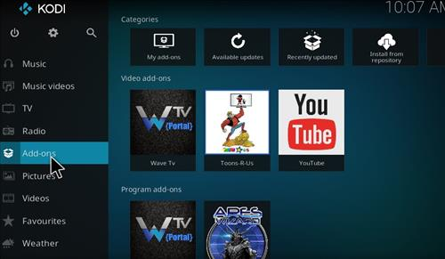 How to Install Wave TV Kodi Add-on with Screenshots step 8