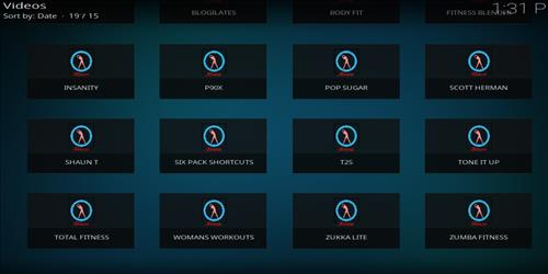 Merlin Fitness Add-on Kodi 17 Krypton How to Install Guide pic 2