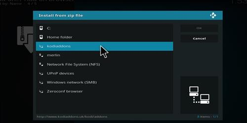 Merlin Fitness Add-on Kodi 17 Krypton How to Install Guide step 11