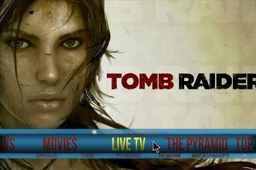 Tomb Raider Build Kodi 17.6 Krypton pic 1