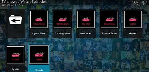 Watch Episodes Add-on Kodi 17 Krypton How to Install Guide pic 2