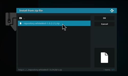 How To Install White Devil Streams Kodi Add-on with Screenshots step 13