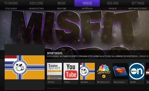 How to Install Misfit Mod Lite Kodi Build with Screenshots pic 3