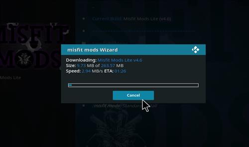 How to Install Misfit Mod Lite Kodi Build with Screenshots step 26