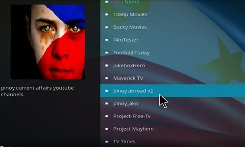 How to Install Pinoy Abroad V2 Kodi Add-on with Screenshots step 19