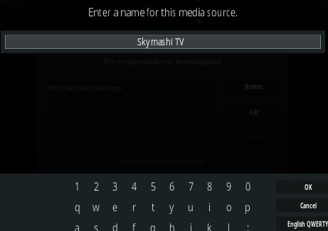 How To Install SkymashiTV Kodi Repository Step 6