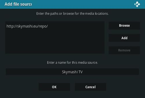 How To Install SkymashiTV Kodi Repository Step 7