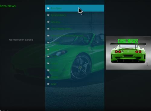 How to Install Enzo Kodi Add-on with Sreenshots pic 2