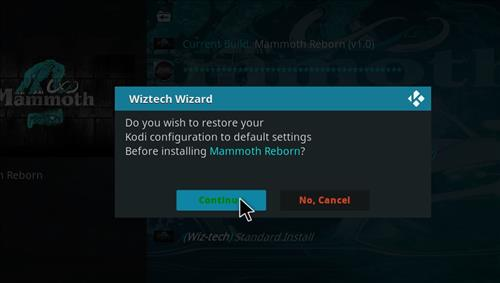 How to Install Mammoth Build Kodi 17.6 Krypton with Screenshots step 20