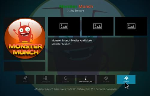How to Install Monster Munch Kodi Add-on with Screenshots step 18