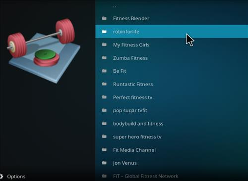 How to Install Pulse Fitness Kodi Add-on with Screenshots pic 2