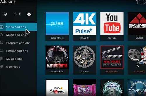 How to Install Pulse Fitness Kodi Add-on with Screenshots step 15