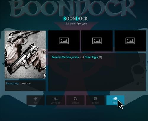 How to Install Boondock Kodi Add-on with Screenshots step 18