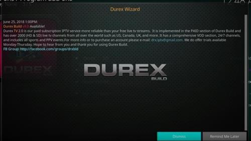 How to Install Durex Build Kodi 17.6 Krypton with Screenshots step 14