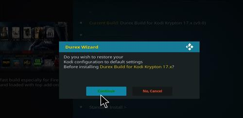 How to Install Durex Build Kodi 17.6 Krypton with Screenshots step 19
