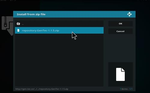 How to Install Gentec Repository with Screenshots step 13