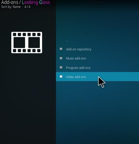 How to Install Looking Glass Kodi Add-on with Screenshots step 16
