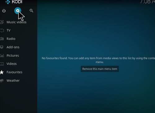 How to Install Nova Kodi Build with Screenshots step 1