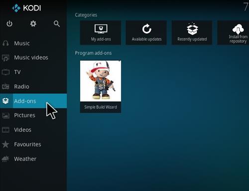 How to Install Nova Kodi Build with Screenshots step 8