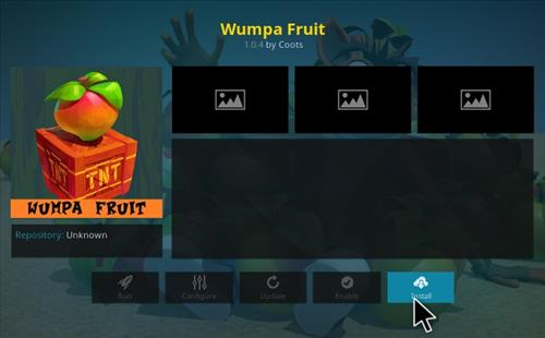 How to Install Wumpa Fruit Kodi Add-on with Screenshots step 18