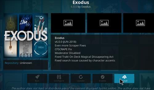 How To Install Exodus Addon Into Kodi 17.6 Krypton step 19
