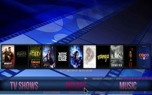 How to Install Teverz Ultra Kodi Build with Screenshots pic 1