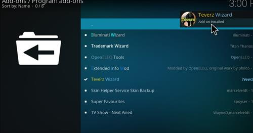 How to Install Teverz Ultra Kodi Build with Screenshots step 19
