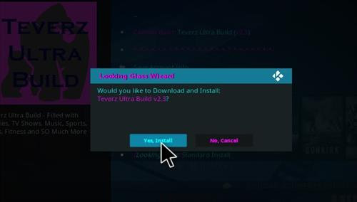 How to Install Teverz Ultra Kodi Build with Screenshots step 27