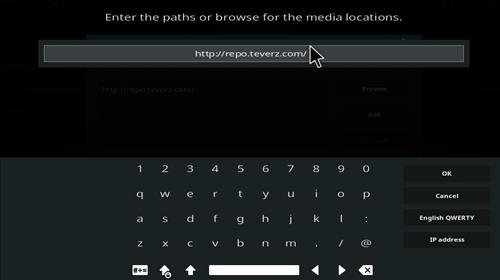 How to Install Teverz Ultra Kodi Build with Screenshots step 5