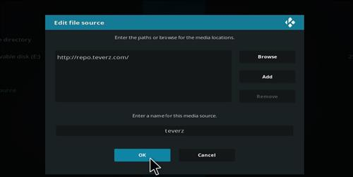 How to Install Teverz Ultra Kodi Build with Screenshots step 7