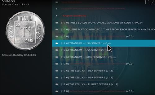 How to Install Titanium Kodi Build with Screenshots step 23