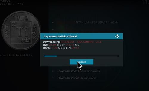 How to Install Titanium Kodi Build with Screenshots step 26