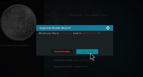 How to Install Titanium Kodi Build with Screenshots step 27