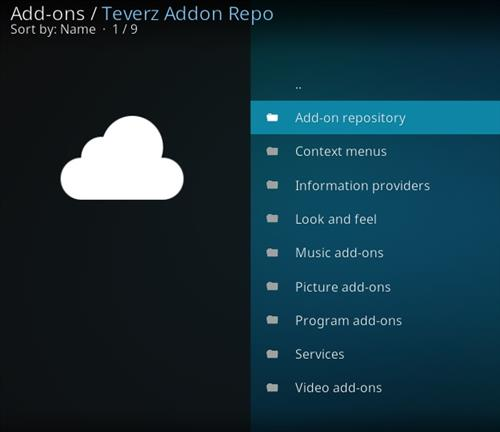 how to install teverz addon repo with screenshots pic 2