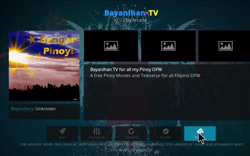 How to Install Bayanihan TV Kodi Add-on with Screenshots step 18