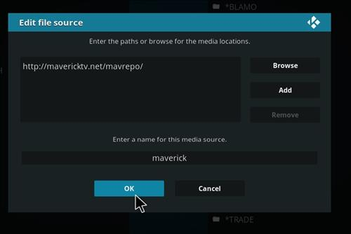How to Install Maverick TV Kodi Add-on with Screenshots step 7