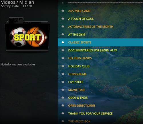 How to Install Midian Kodi Add-on with Screenshots pic 2