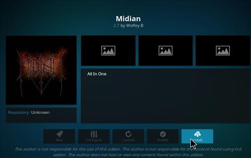 How to Install Midian Kodi Add-on with Screenshots step 18