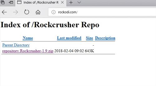 manual and download rocckcrusher step 2