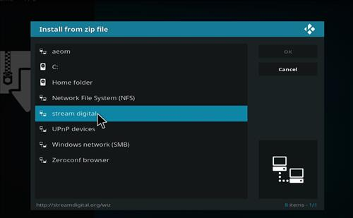 How to Install BK Nox Kodi Build with Screenshots step 11