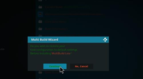 How to Install MultiBuild Leia 18 with Screenshots step 25