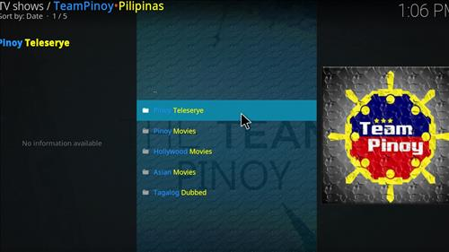 How to Install Team Pinoy Pilipinas Kodi Add-on with Screenshots pic 2