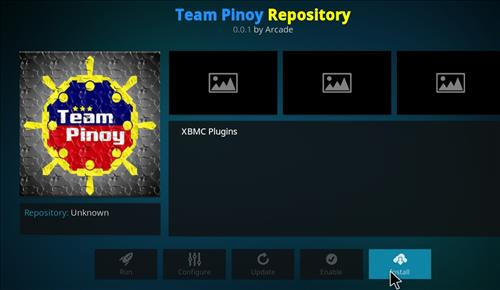 How to Install Team Pinoy Pilipinas Kodi Add-on with Screenshots step 18