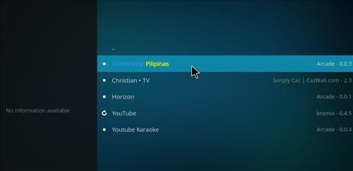 How to Install Team Pinoy Pilipinas Kodi Add-on with Screenshots step 22