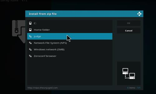 How to Install The Abstract LeiaXB1 Kodi Build step 11