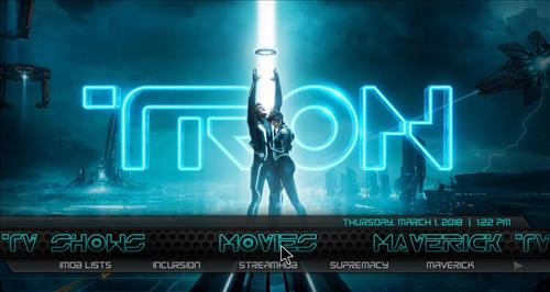 How to Install Tron Legacy Build Kodi 18 Leia pic 1