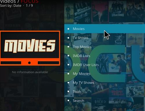 How to Install Focus Kodi Add-on with Screenshots pic 2