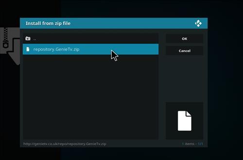 How to Install GenieTV Sports Kodi Add-on with Screenshots step 12